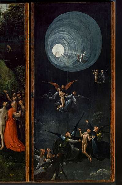 Visions of the Hereafter, 1500 (oil on board)