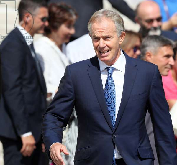 Tony Blair, Holy See, 2017 (photo)