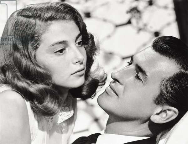 Stewart Granger and Anna Maria Pierangeli, 1952 (b/w photo)