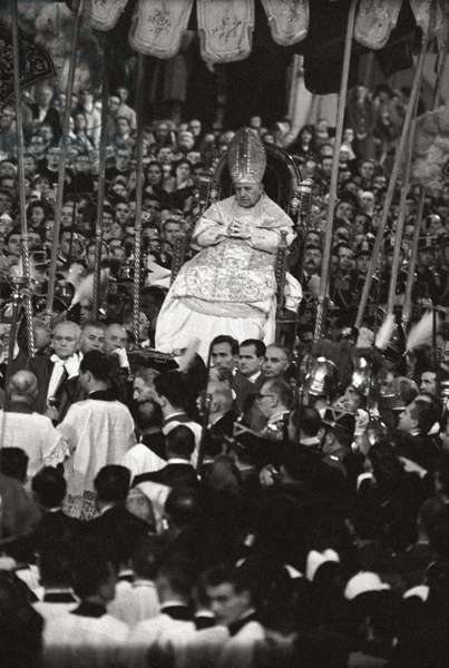 Coronation ceremony of Pope John XXIII