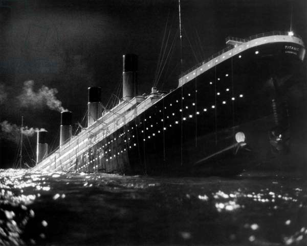 The Titanic passenger liner in A Night to Remember, Great Britain