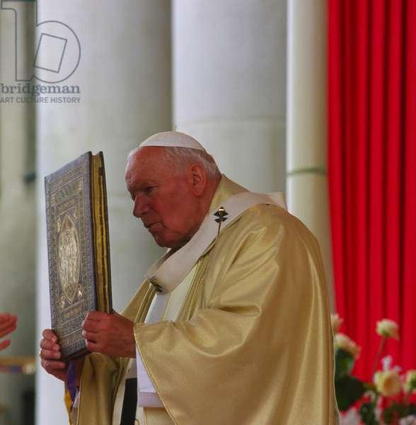 Pope John Paul II, Warsaw, Poland