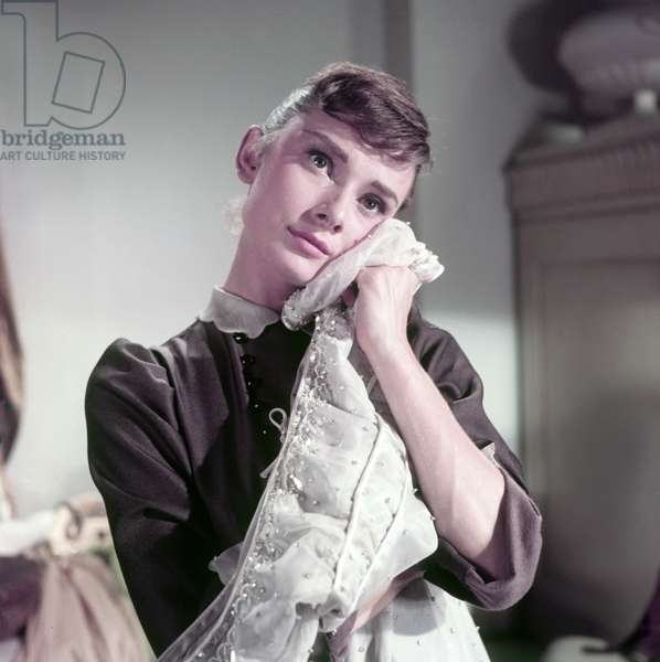 Audrey Hepburn in War and Peace (photo)