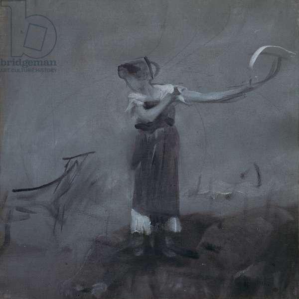 Female Figure, 1910 (tempera on canvas)