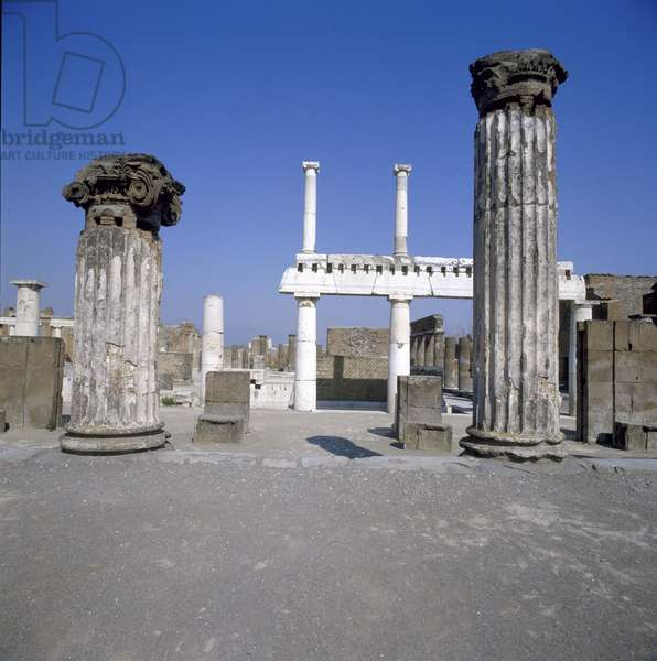 Basilica of Pompei, 2nd Century b.C., marble and stone
