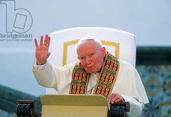 Pope John Paul II, Forio, Italy