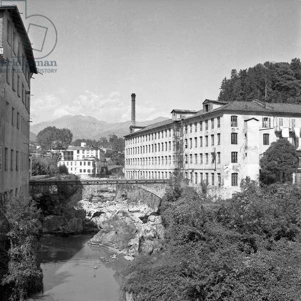 Pria wool factory in Biella, Biella, Italy