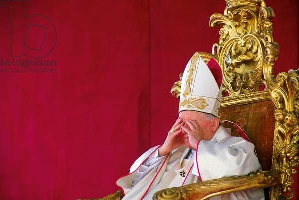 Pope John Paul II, Catania, Italy