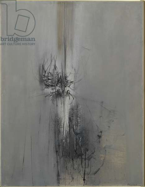 Evolution (Evoluzione), by Emilio Scanavino, 1958, 20th Century, oil on canvas, 146 x 114 cm