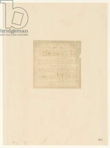 Codex Atlanticus, sheet 815 recto