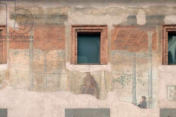 Fresco by Bernardino Luini