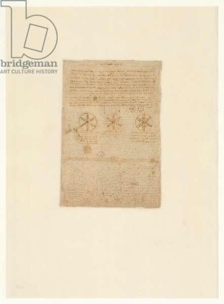Codex Atlanticus, sheet 469 verso