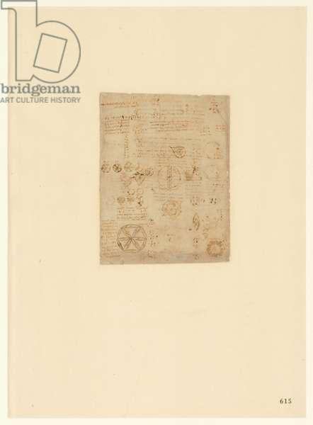 Codex Atlanticus, sheet 615 recto