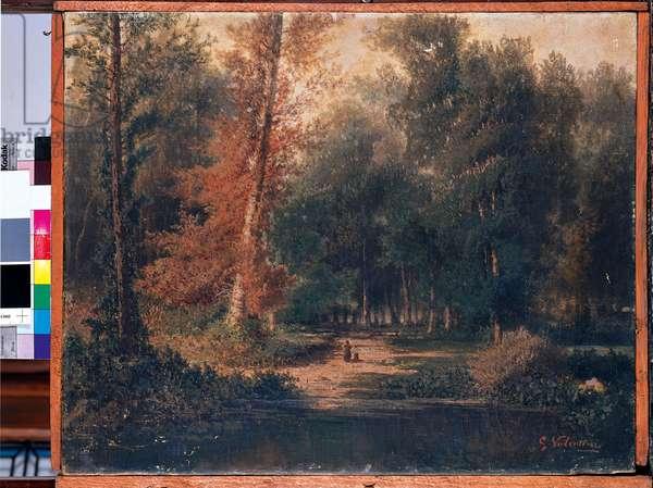 Landscape, 1864 (oil on canvas)