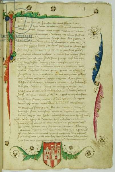 Statuta civitatis et episcopatus Comi edita a Francisci I Sfortia anno 1458