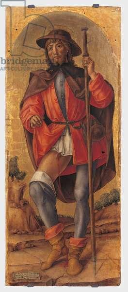 Saint Roch, 1486 (tempera on panel)