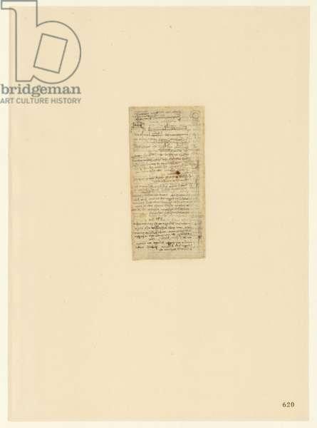 Codex Atlanticus, sheet 620 recto