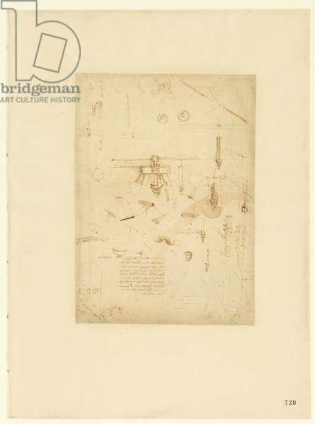 Codex Atlanticus, sheet 720