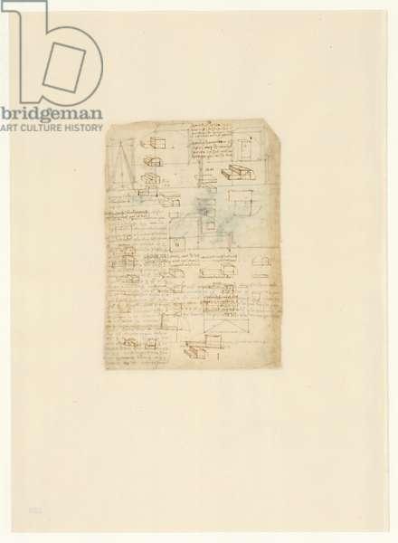 Codex Atlanticus, sheet 529 verso