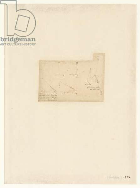 Codex Atlanticus, sheet 725 recto
