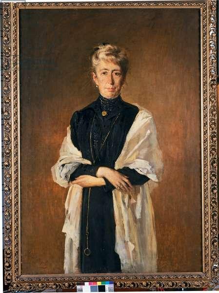 Portrait of Maria Magistretti, 1917 (oil on canvas)