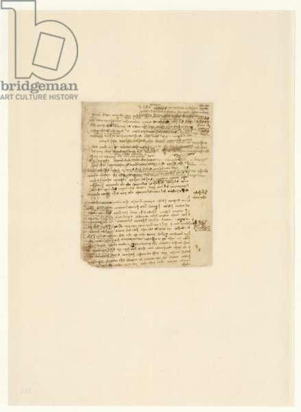 Codex Atlanticus, sheet 534 verso