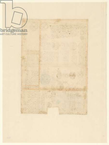 Codex Atlanticus, sheet 284 verso