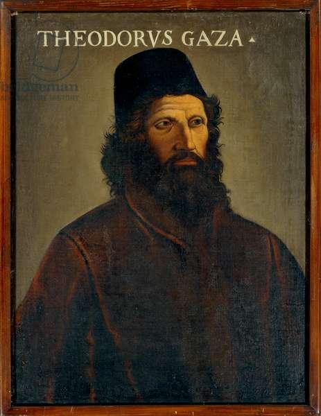 Portrait of Theodorus Gaza