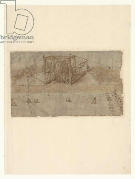 Codex Atlanticus, sheet 3 recto