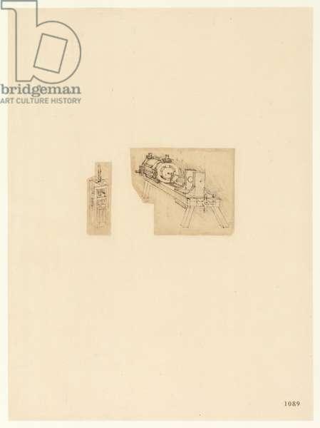 Codex Atlanticus, sheet 1089 recto