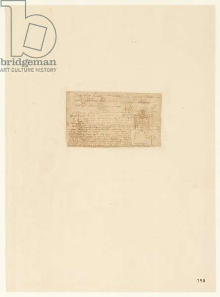 Codex Atlanticus, sheet 790 recto