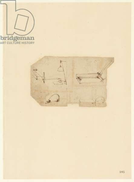 Codex Atlanticus, sheet 595 recto