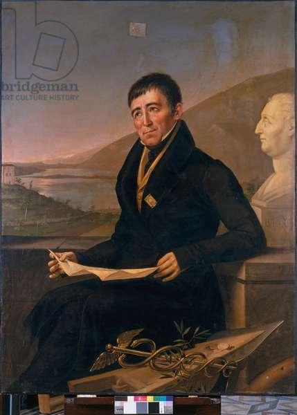 Portrait of the Baron Pietro Custodi, 1830 (oil on canvas)