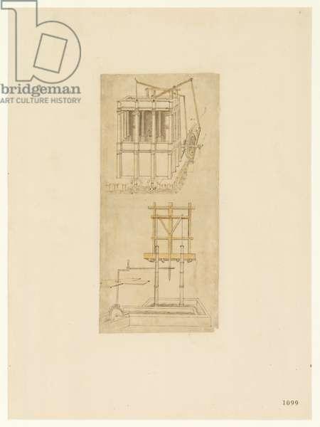 Codex Atlanticus, sheet 1099 recto