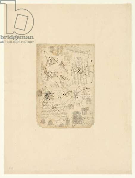 Codex Atlanticus, sheet 104 verso