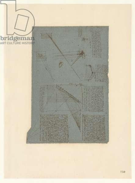 Codex Atlanticus, sheet 750 recto