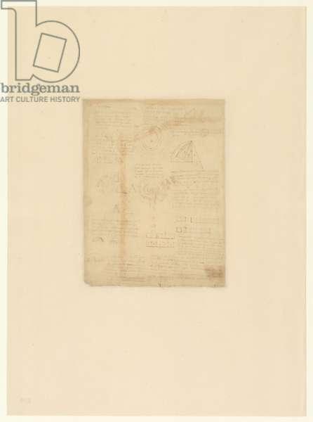 Codex Atlanticus, sheet 409 verso