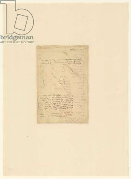 Codex Atlanticus, sheet 559 verso