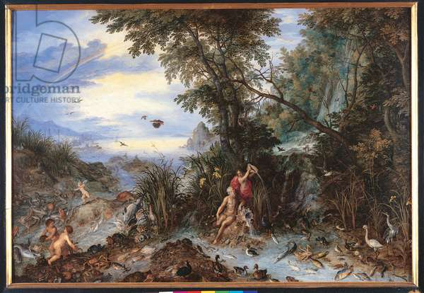 Allegory of the Water, c.1614 (oil on copper)