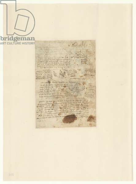 Codex Atlanticus, sheet 364 verso