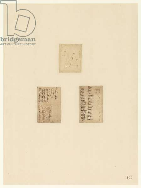 Codex Atlanticus, sheet 1109 recto