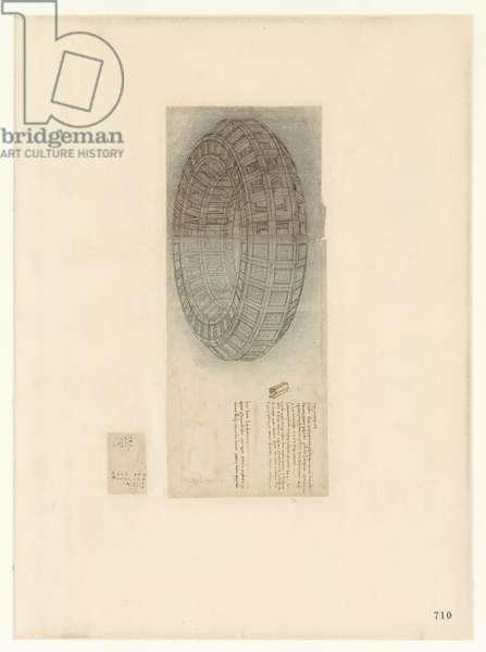 Codex Atlanticus, sheet 710 recto