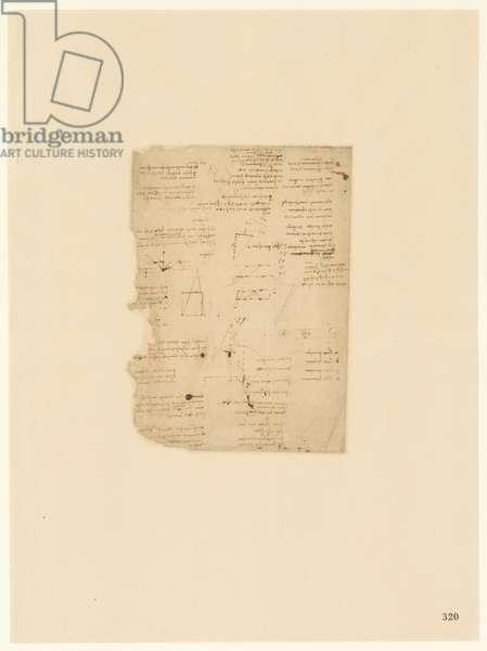 Codex Atlanticus, sheet 320 recto