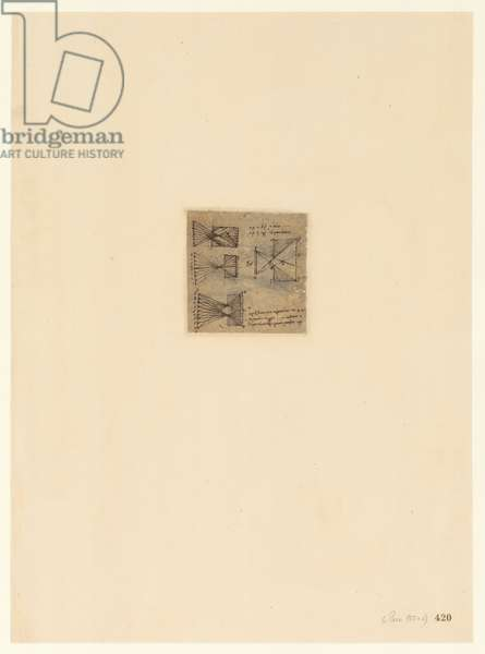Codex Atlanticus, sheet 420 recto