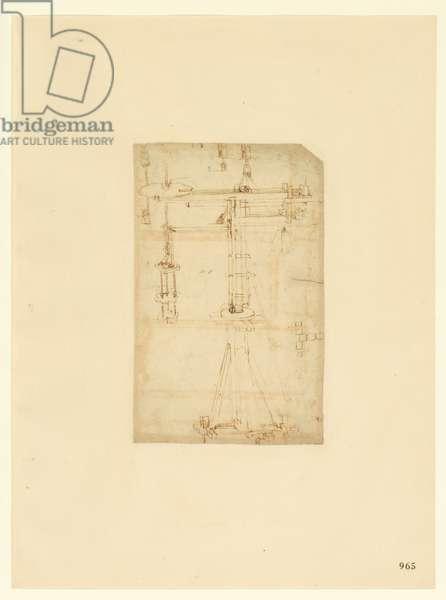 Codex Atlanticus, sheet 965 recto