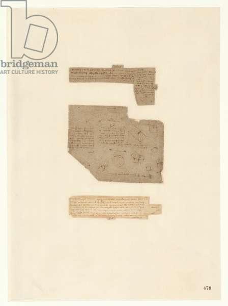 Codex Atlanticus, sheet 470 recto