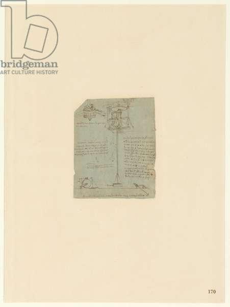 Codex Atlanticus, sheet 170 recto