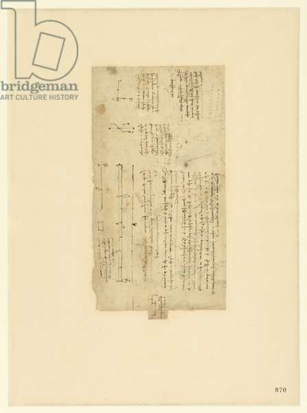 Codex Atlanticus, sheet 870 recto