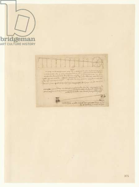 Codex Atlanticus, sheet 375 recto