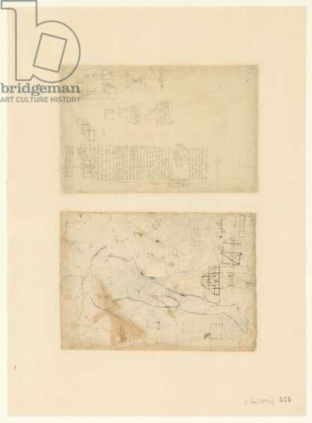 Codex Atlanticus, sheet 575 recto